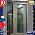 2016 new products Aluminum profile French window and door/ glass window comply with AS2047/AS2208/AS1288