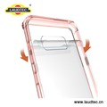 Soft TPU Bumper Clear PC Back Cover Hybrid Case For Samsung S8