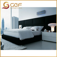 Guest room furniture hotel extra bed headboard set