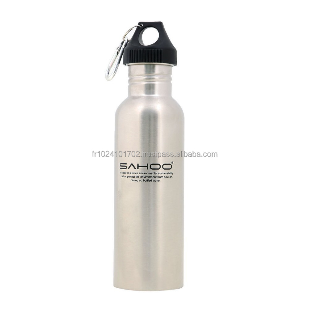 New Cycling Bike Bicycle Sports Stainless Steel Water Bottle 750ML