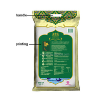 gravure soft plastic printed laminated packing materials compound rice bags