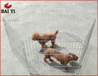 Hot Sale Portable Outdoor Dog Cage And Dog Run Cage Panels