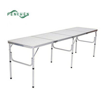 Outdoor Aluminum Furniture MDF Adjustable Table For Sale
