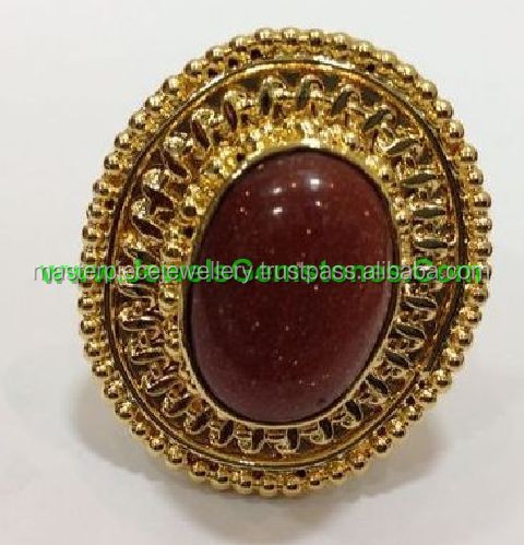 Gold Plated Brass Jewelry Manufacturers Rings
