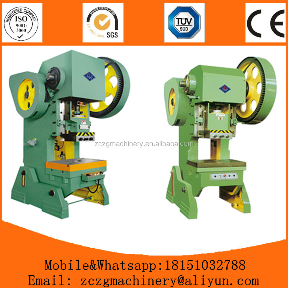 10 ton manual punch press machine, mini punch press machine with cheap rates for export