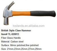 British type fireman hammer with tpr plastic coated handle
