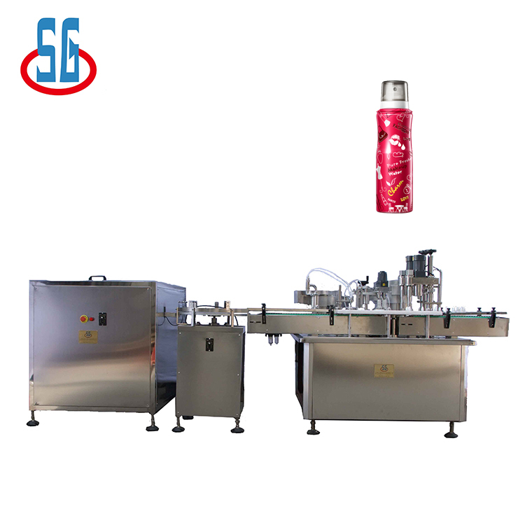 SGJY Best Price 4 Nozzle Cosmetic Liquid Filling Capping Machine