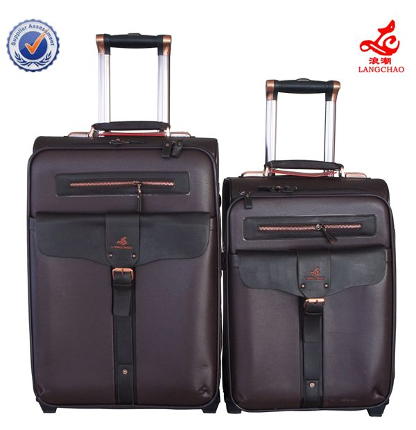 luggage with removable wheels