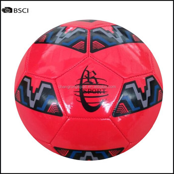 Stock size 5 PVC soccer ball