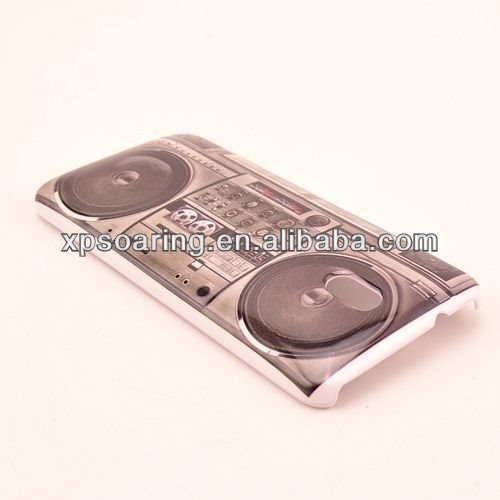 IMD radio plastic case cover for htc one mini M4