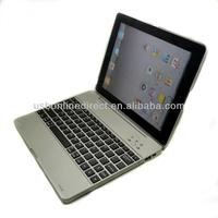 High quality aluminum wireless bluetooth keyboard for ipad 3 bluetooth keyboard case