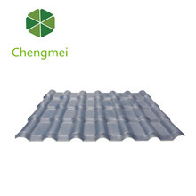 Outstanding Weather Resistance Heat resistance plastic tile roofing