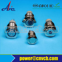 Chinese IP65 ball head stainless steel push button switch for kitchen hood