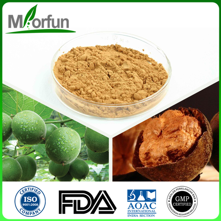 100% Pure Organic Natural Mogrosides Monk Fruit Sweetener Luo Han Guo Extract