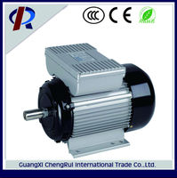 Cast iron frame high speed dual capacitor single phase 2hp electric motor