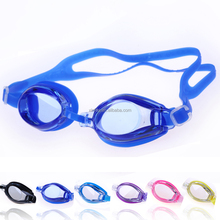Bright Color Cheap Price Poisonless and Tasteless TPR Strap Swimming Goggles