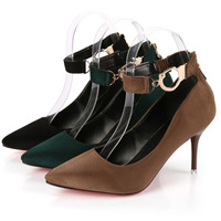 X60547A Suede High Heels Women OL Pointed Toe Sexy High Heels Shoes