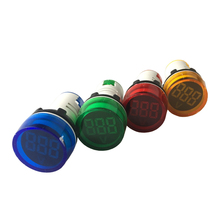 22mm indicator lamp LED 20-75hz plastic LED pilot lamp AD16-22DS
