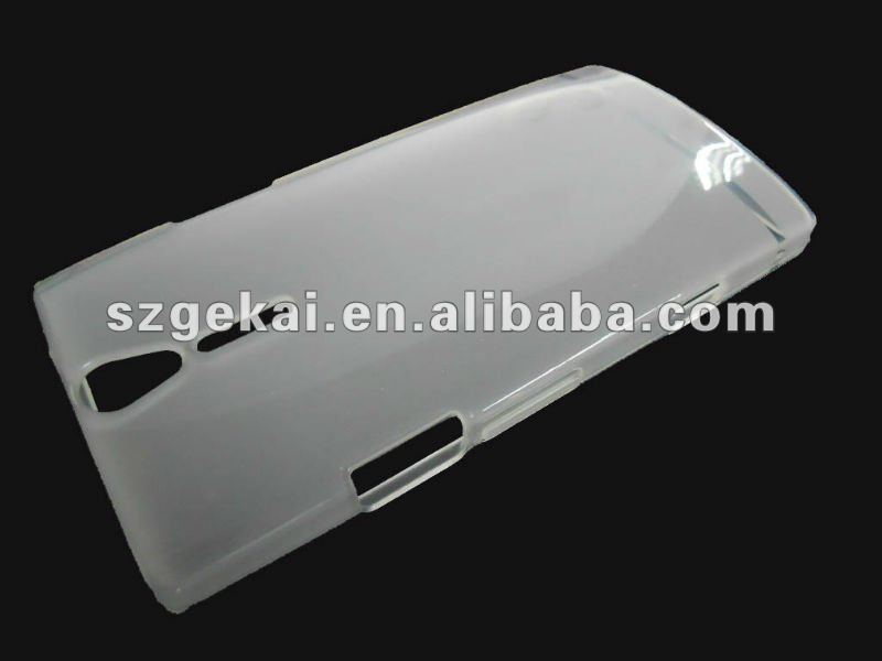 tpu case for Sony Xperia NX/S/LT26i(so-02d)