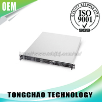 OEM 1U Electronic High Disk I/O Nas Performance Server Chassis