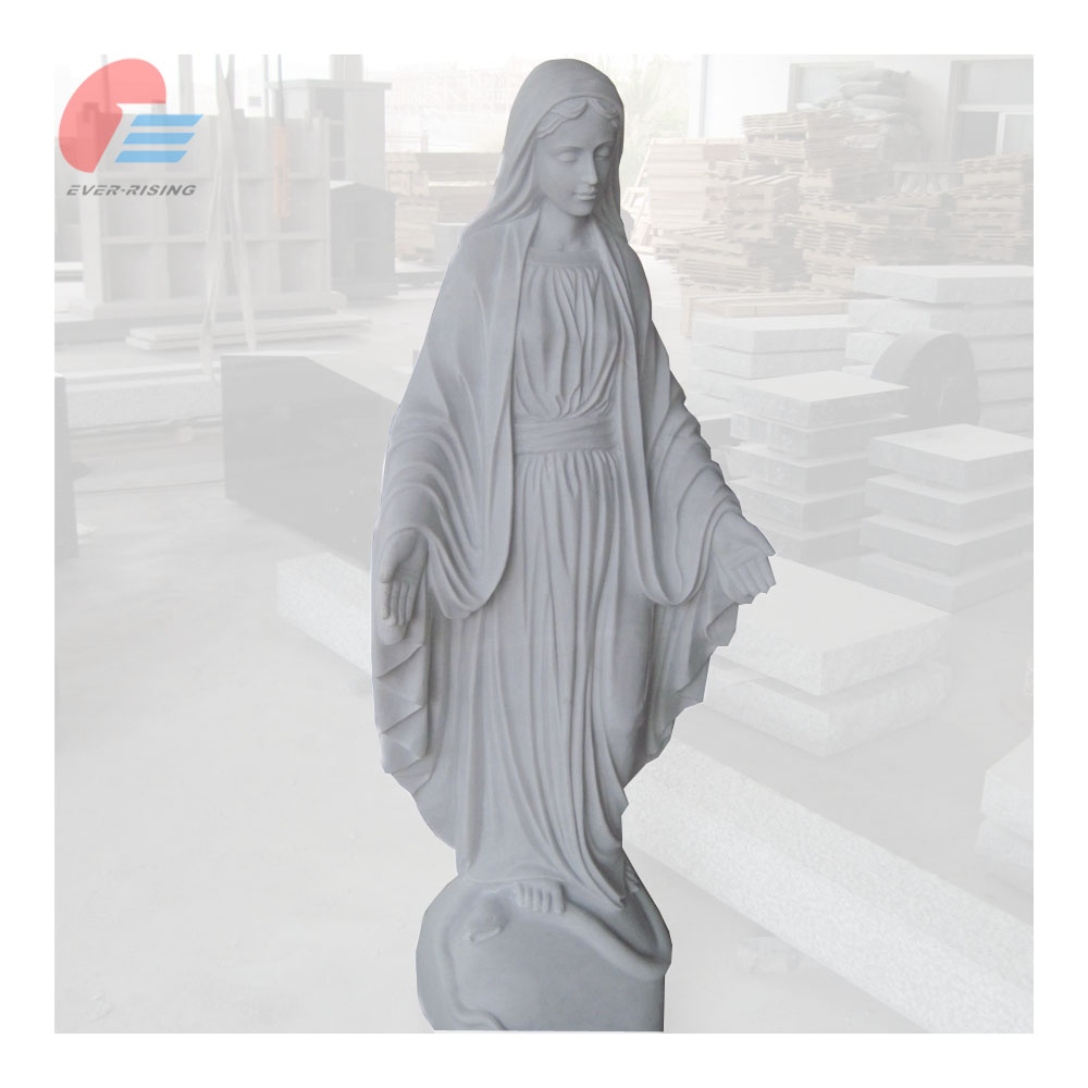 China White Marble Mary statue