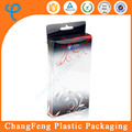 Customized PVC cell phone box packaging clear plastic box
