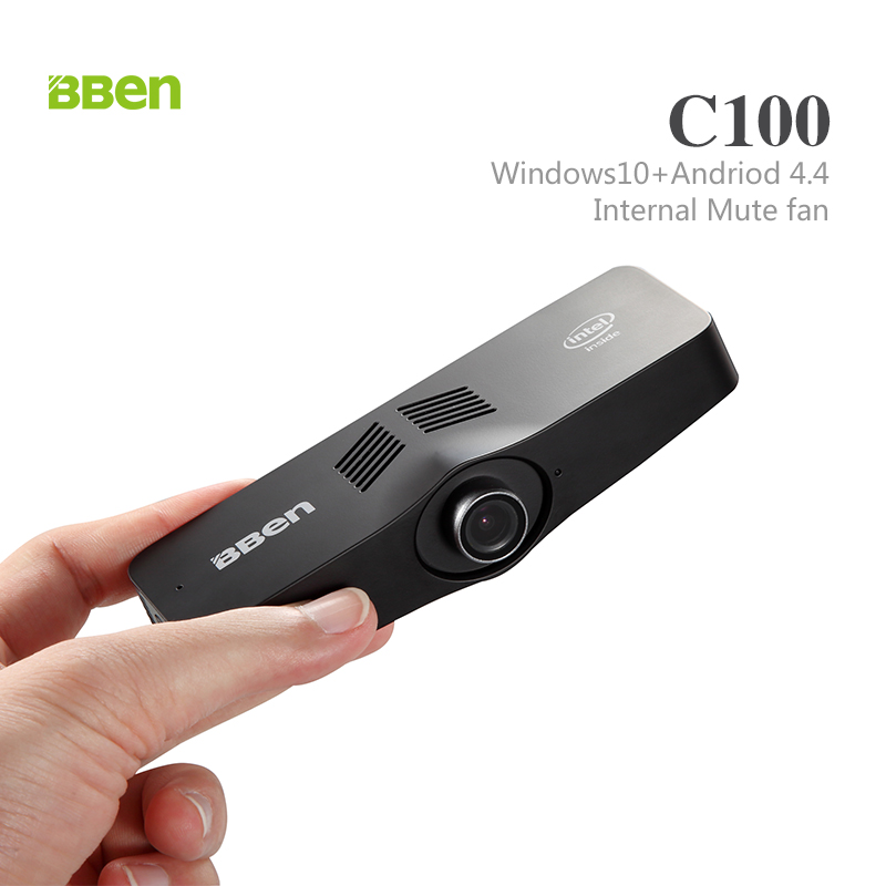 BBEN Intel Z8350 64GB camera mini pc