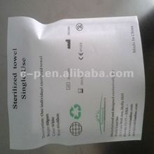Spunlace Nonwoven Medical Disposable Individual Hand Wipes for medical consumables OEM Welcomed