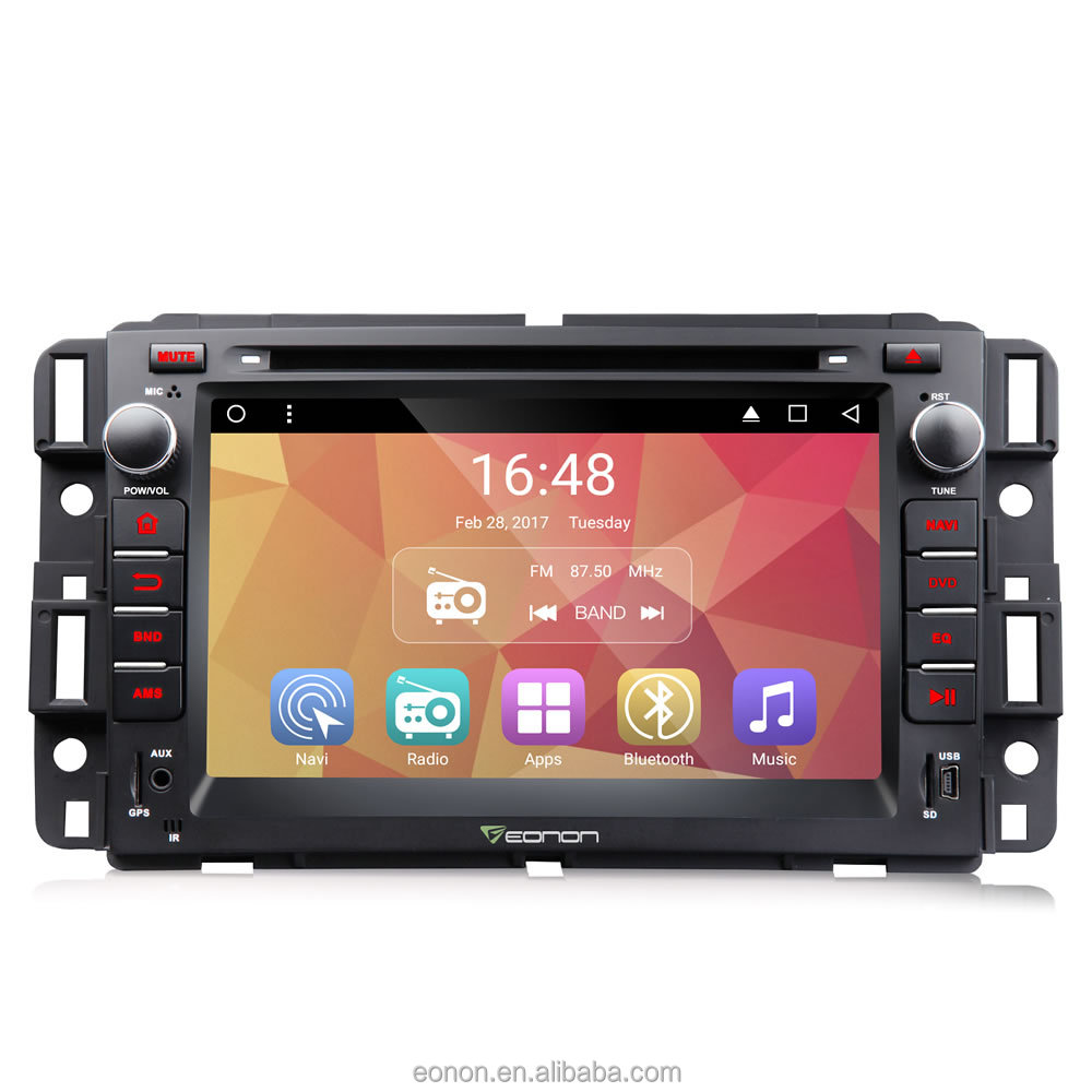 EONON GA7180 for Chevrolet, GMC & Buick Android 6.0 7 inch Multimedia Car DVD GPS with Mutual Control EasyConnection