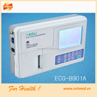 Price of hospital ecg machine/ cheap portable ecg machine/ ecg machine