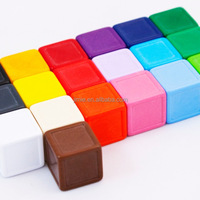 Promotional Colorful Custom Blank Indented Dice
