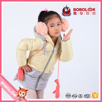 2016 winter stiching color baby girls down jackets girls fashion clothes girls down jacket