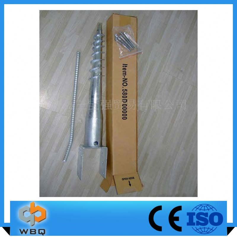 China Alibaba Ground Screw Post u Shaped Anchoring Spikes factory