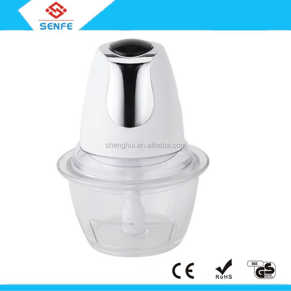 New Design Fashion 200w Multi-function Electric Mini Vegetable Food Chopper For Sales