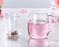 Haonai glass 2013 hot sale!borosilicate glass tea cup