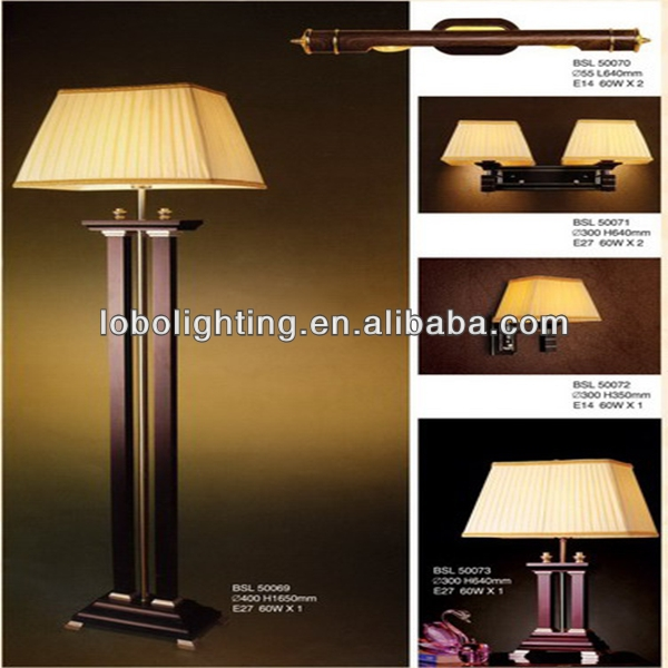 USA hotel led corridor lighting led wall light hotel/2015 new wood floor lamp/table lamp and floor lam/interior decoration lamp