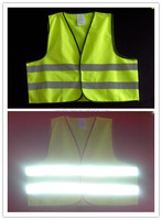 High visibility 3m scotchlite reflective safety vest ,protection safty vest and cheap reflective vest for cycling
