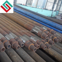 4 1/2'' flat water well drill pipe/drill rod(4.6 meters)