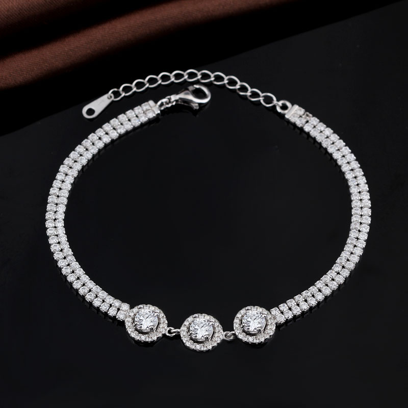 Crystal fashion indian bangle bracelet accessories for woman