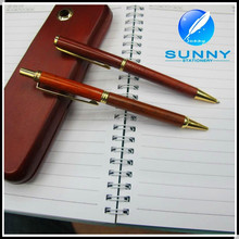 high quality classic retractable recycled wooden ball pen