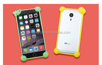 Universal mobile phone silicone cover, 3D dolls phone cover protective frame of popular brands universal phone cover