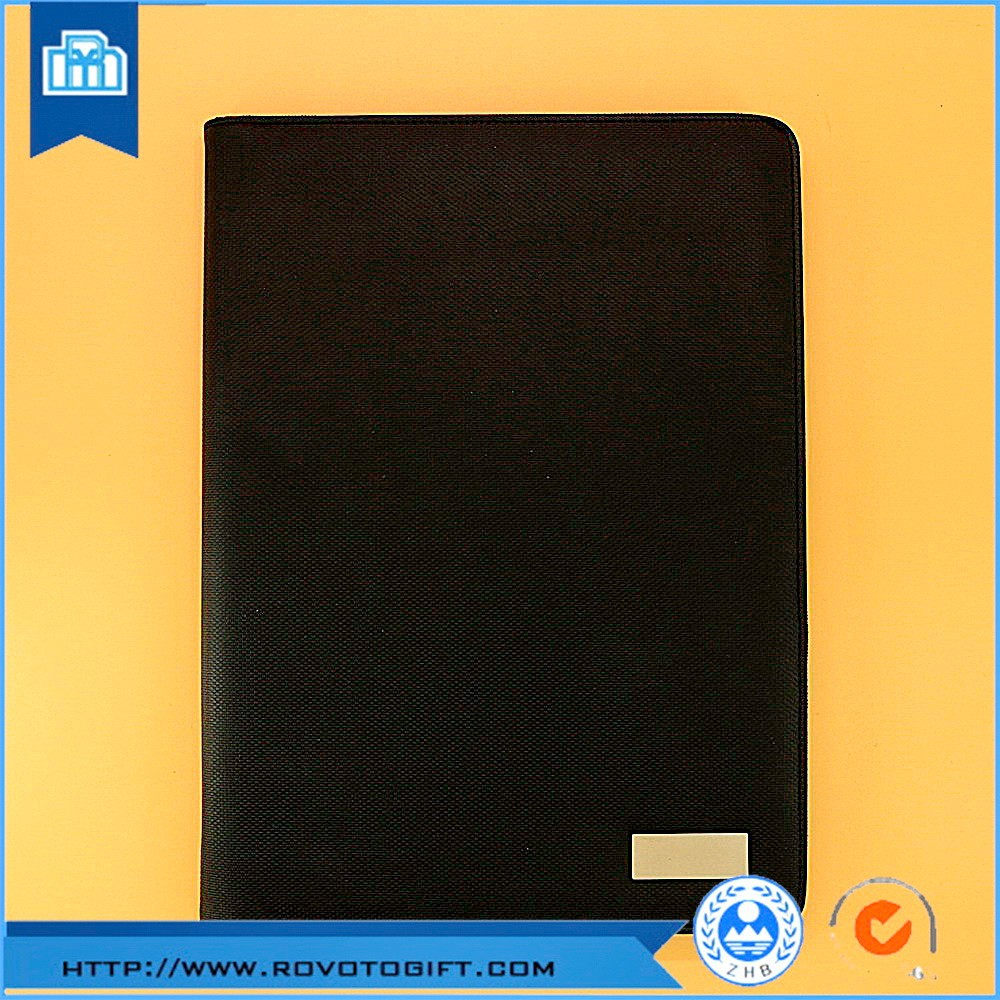Hardware decoration pad holder conference folder