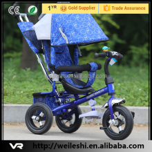 kids pedal tricycle trike,multi-function mini kids trike,kids ride on toy trike with sunshade