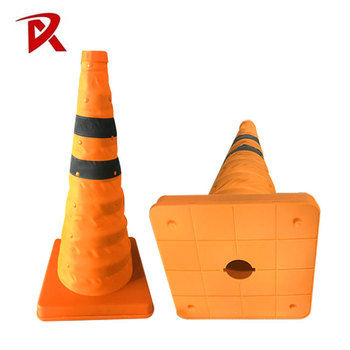 Hot sale durable base traffic collapsible cone