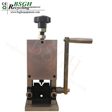 BS-006 Small Wire Stripper Hand Tool Drill Driven Scrap Copper Cable Stripping Machine