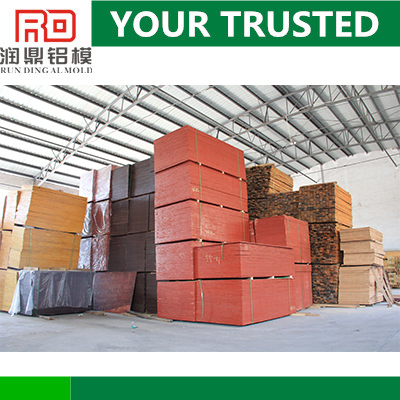 RD high density provide concrete film faced plywood/shuttering plywood board in china factory/suppliers