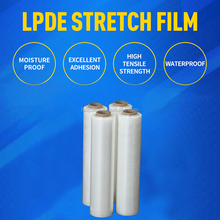 18x1500x80gauge Hand Stretch Plastic Film Pallet Shrink Wrap Film 4 rolls per case