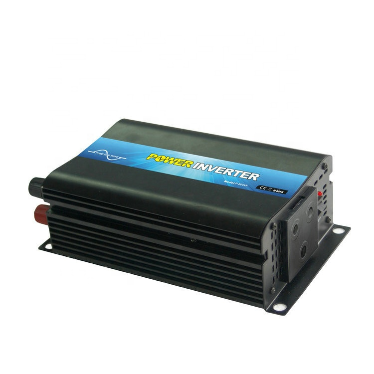 one phase output high frequency 500w dc to ac pure <strong>sine</strong> <strong>wave</strong> inverter 24v 120v for middle American market