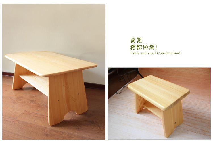 Sillas de madera maciza ni os mesa de escribir montessori muebles ni o clase muebles sillas de - Mesa madera ninos ...