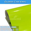 CARLIKE Fast Delivery Peak Green Car Wrapping Glossy Vinyl Film